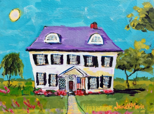 4343 Hope Street - Painting by JanettMarie