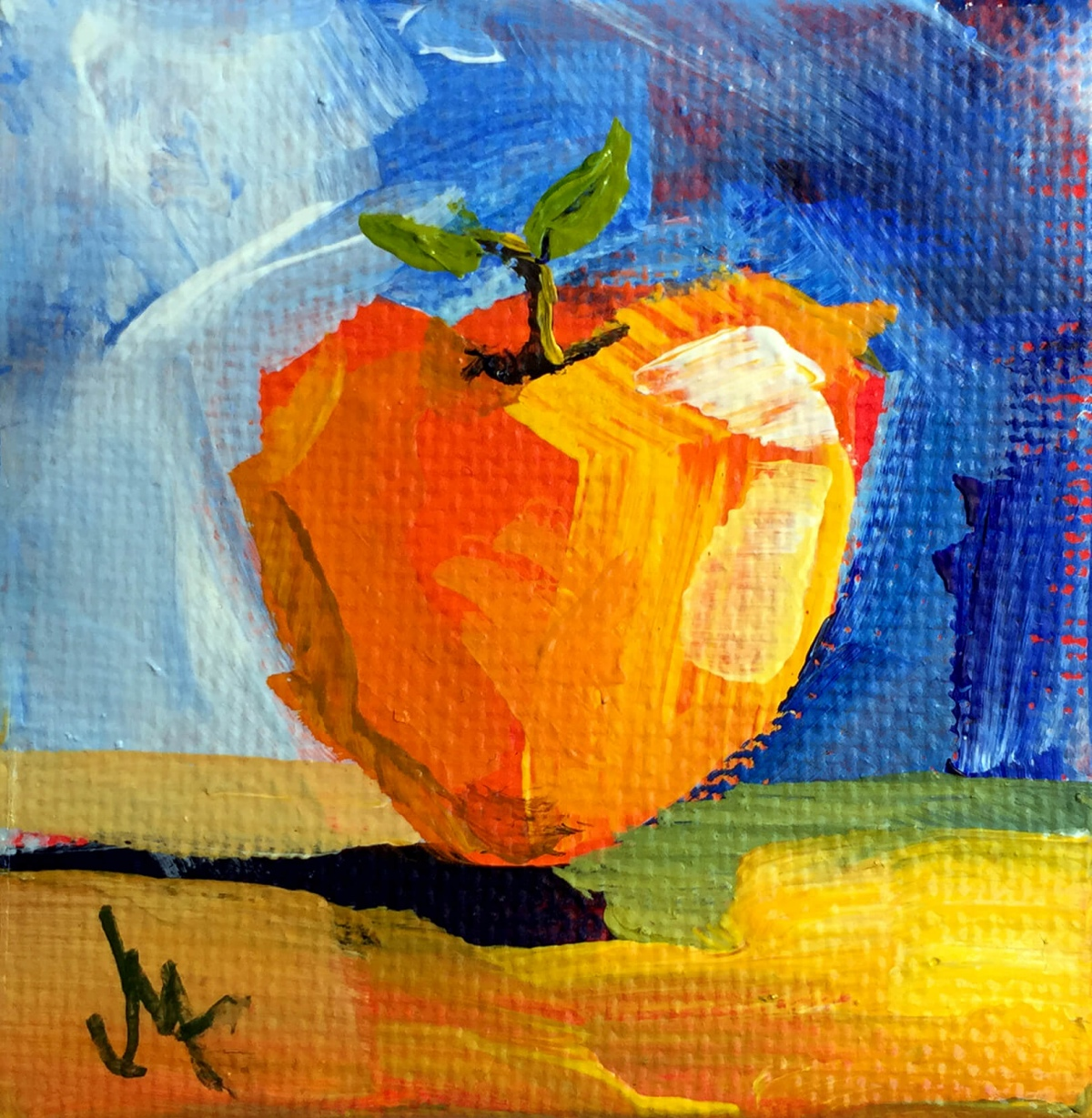 Apple Anyone - Painting by JanettMarie