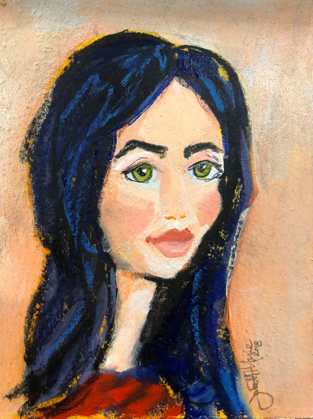 Bella - Paintings by JanettMarie