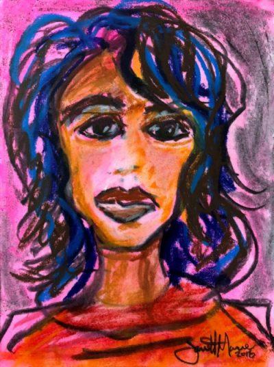 Bonita - Painting by JanettMarie