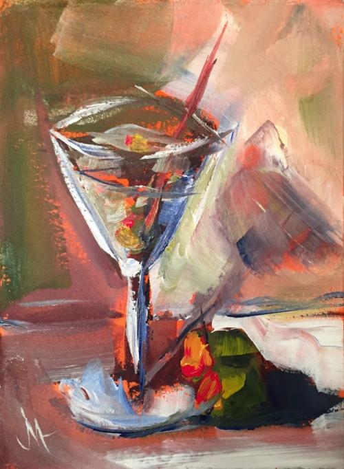 Fifteen in Fifteen - Painting by JanettMarie