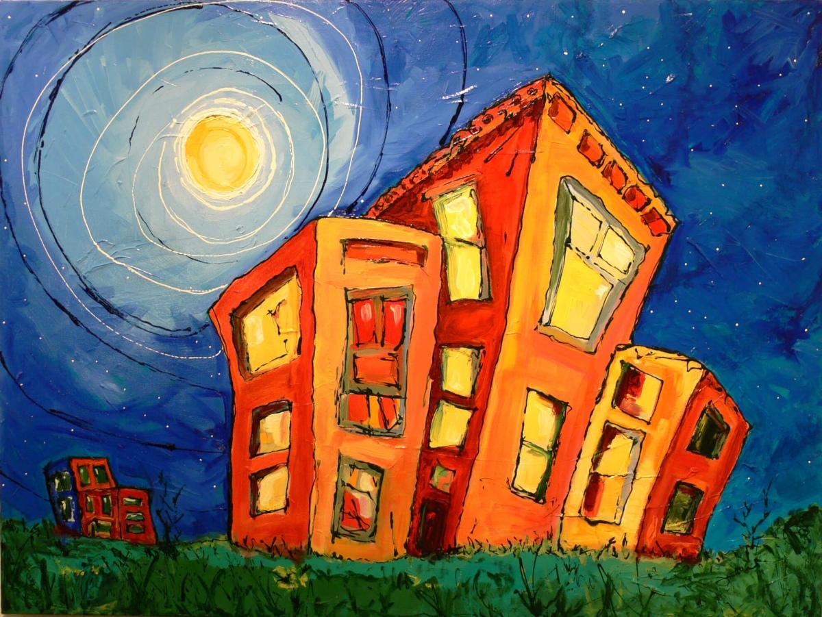 Moonshine - Paintings by JanettMarie
