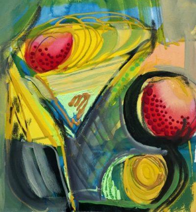 Number Nine - Painting by JanettMarie