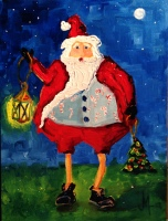 View Santa Clause Paintings by JanettMarie