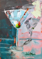 View Paintings of Martinis by JanettMarie