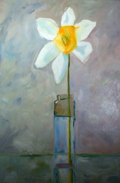 Spring Hope - Painting by JanettMarie