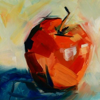 Wild Apple - Painting by JanettMarie